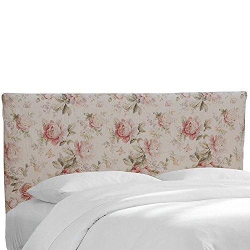 Custom Upholstered Slipcover Headboard in Brissac Amber - Upholstered Headboard Slipcover