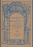 img - for Mediaevalia et Humanistica, New Series, No. 1: Studies in Mediaeval and Renaissance Culture book / textbook / text book