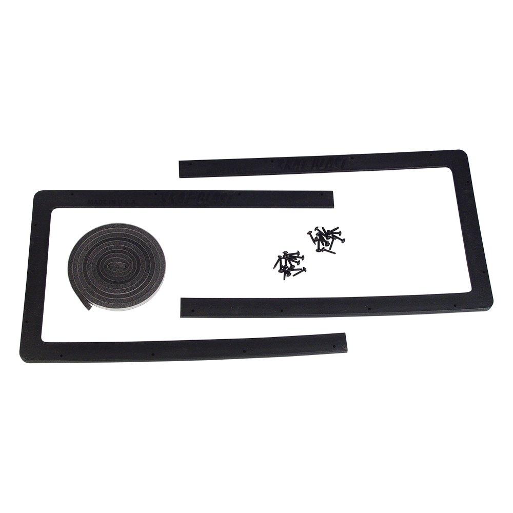 Skat Blast Extra-Large 12'' x 45'' Cabinet Lens Frame 6101-08 for Skat Blast Sandblasting Cabinets, Made in USA