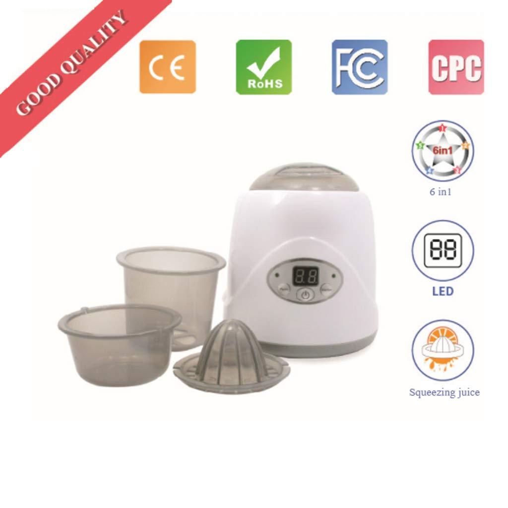 Sterilizzatorei ultraviolati Sterilizzatore a vapore elettrico, disinfezione del latte caldo dispositivo per il latte caldo a temperatura costante bottiglia per latte sterilizzatore multifunzionale p