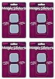 MAGIC SLIDERS L P 4045 4 Pack 1-3/4'' Magic Slider (Вundlе оf Fоur)
