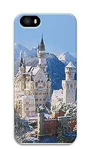 iPhone 5 5S Case Landscapes Neuschwanstein castle 3D Custom iPhone 5 5S Case Cover