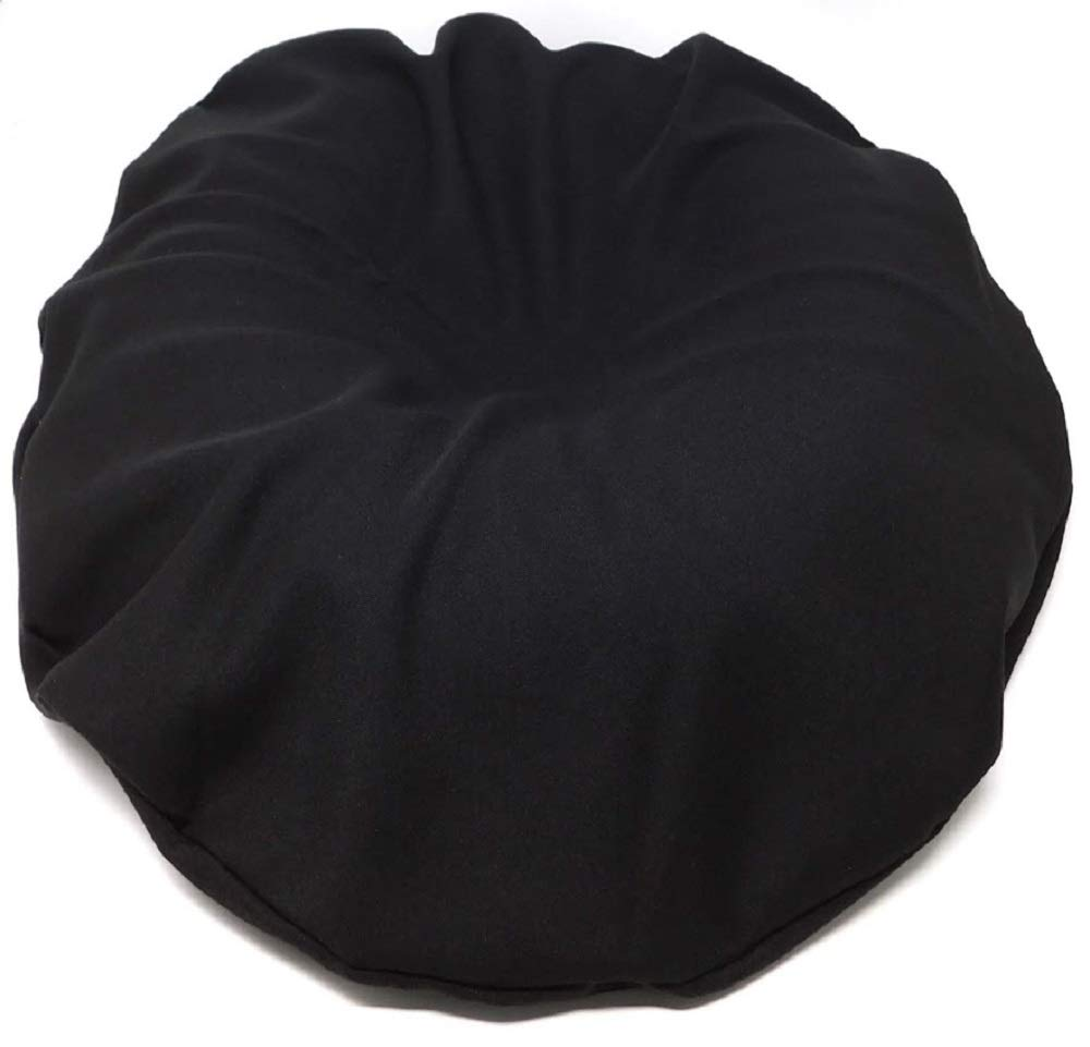 Comfortnights Black Polycotton Cover To Fit, All 44cms Donut Cushions and Surgical rings Shellmark