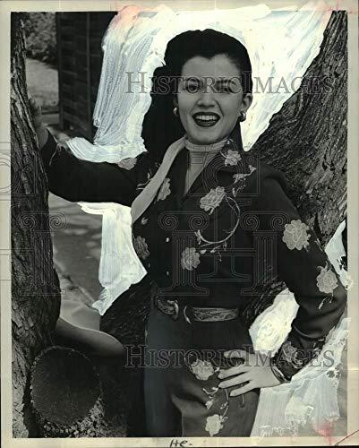 Press Photo Miss Joan Bradshaw of Houston, Texas - hca74075