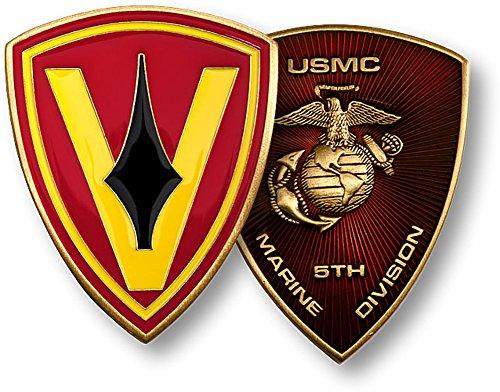 5th Marine - Marine Challenge Coin Set