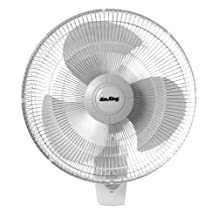 Air King 9016 Commercial Grade Oscillating Wall Mount Fan, 16-Inch