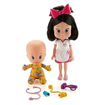 Mattel Cleo & Cuquin-Muñecos Vamos al médico Juguetes de la Familia Telerín GFB54