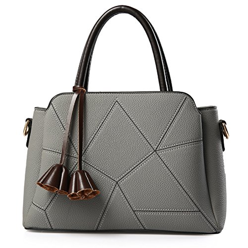 match Korean Diagonal Women's Meoaeo All Cross Bags Shoulder Grey dIUURwq