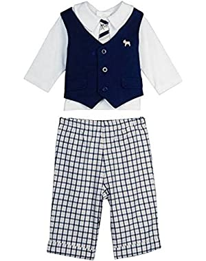Baby-Boys Preppy Pant Set