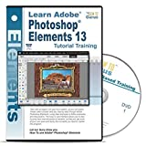 Adobe Photoshop Elements 13 Tutorial Training on 2 DVDs Over 15 hours of Training 223 video lessons