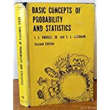 Basic Concepts of Probability and Statistics by Joseph Lawson Hodges (1970-06-02)