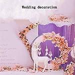 XNNSH-Artificial-Flower-Light-Pink-Cherry-Blossom-Tree-Vine-Eucalyptus-Leaves-Artificial-Flower-Vine-Garland-for-Wedding-Ceremony-Room-Decoration-Silk-Sakura-Flowers10FT3m