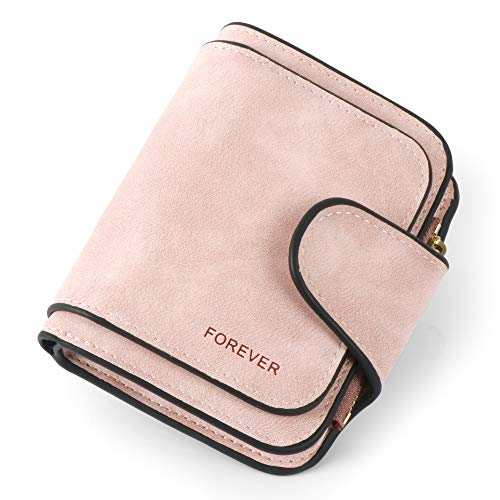 (Women Purse Fashion Pu Leather Cute Clutch Small Ladies Credit Card Holder Wallet Organizer For Female Color - Pink)