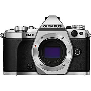 Olympus OM-D E-M5 Mark II Mirrorless Camera with 12-40mm Lens Kit Silver