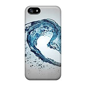 For FES38711UmTn Water Wave Protective Cases Covers Skin/iphone 5/5s Cases Covers