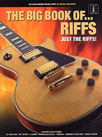 The Big Book Of Riffs. Sheet Music for Guitar Tab(with Chord Symbols ...