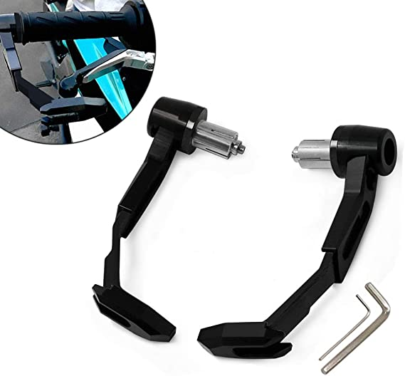 """Brake Clutch Lever Protector Guard handguard Proguard For Motorcycle22MM 7//8/"""" GD"""