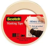 Scotch Tan Home and Office Masking Tape, 0.70 in x