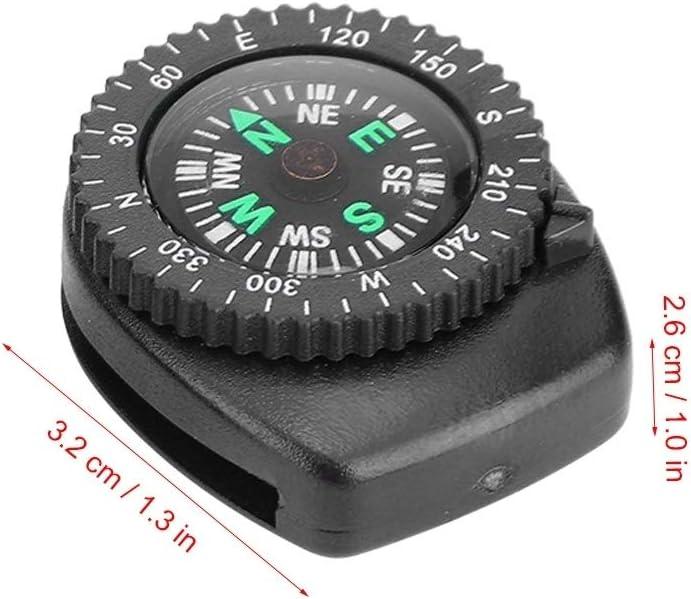 Broco 2pcs beweglicher Uhrenarmband Beleg Slide Navigation Handgelenk Kompass for Camping Boating