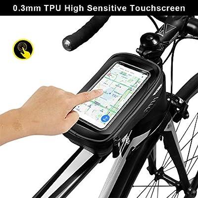 ENONEO Bolsa Movil Bicicleta Bolsa Manillar Bicicleta Impermeable ...