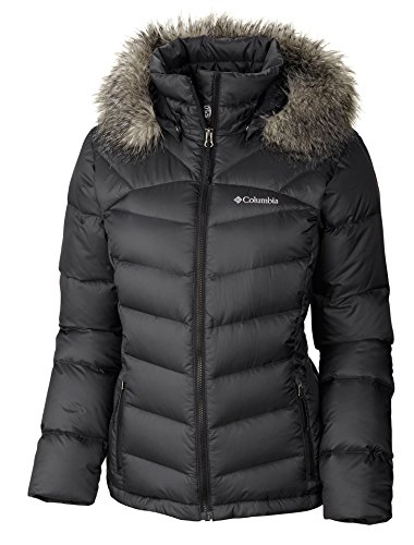 Columbia Women's Glam-Her Down Jacket, Black, Small