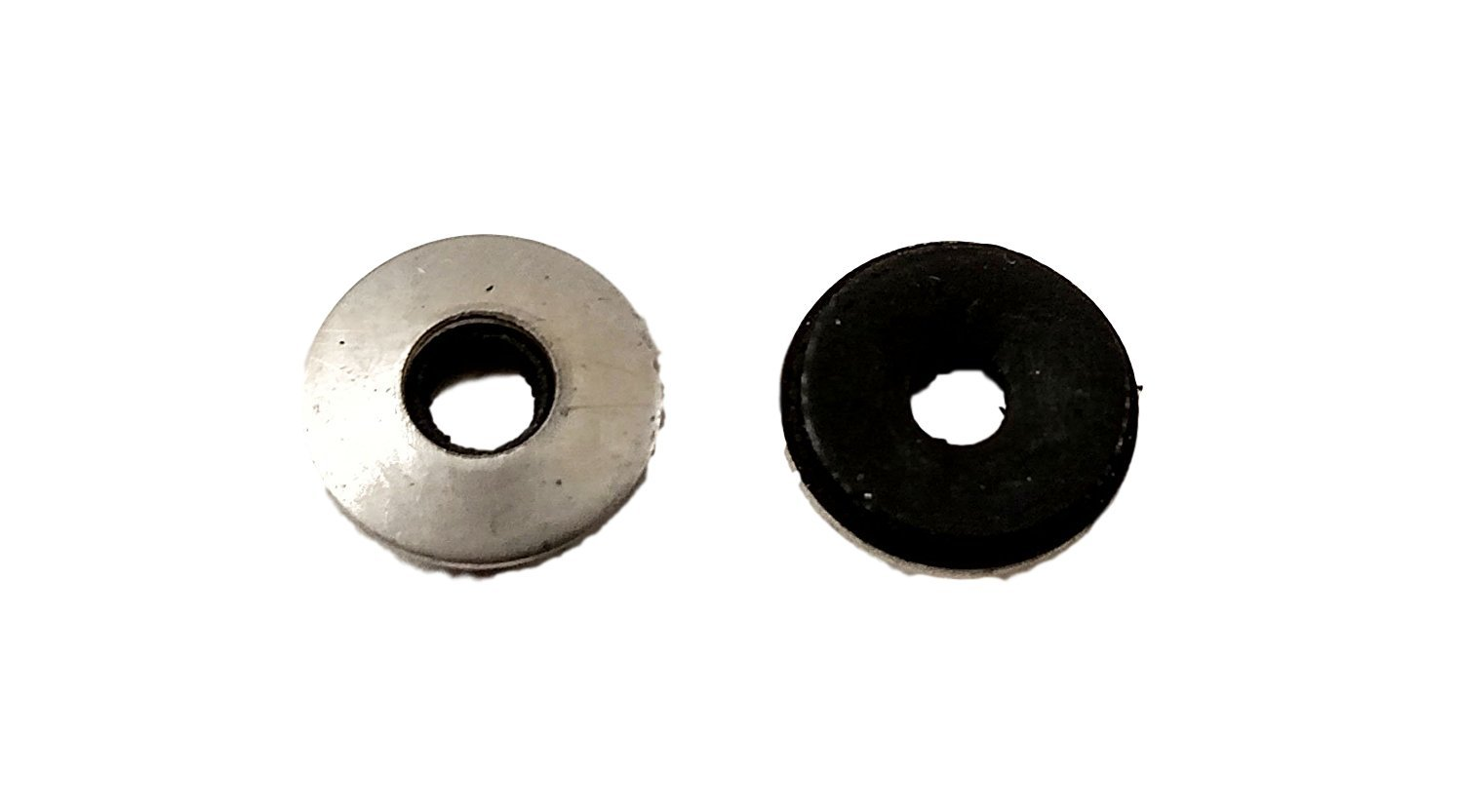 #8 Neoprene EPDM Bonded Sealing Washers Stainless Steel 18-8, Neo Bond, 100 Pieces (#8 NEO BOND WASHER)