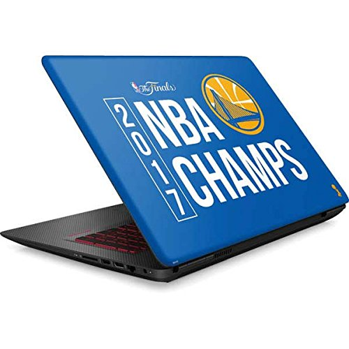 Skinit NBA Golden State Warriors Omen 15in Skin - Golden State Warriors 2017 NBA Champs Design - Ultra Thin, Lightweight Vinyl Decal Protection by Skinit