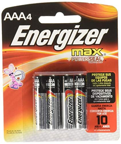Energizer AAA Batteries (4 Count), Triple A Max Alkaline Battery best to buy