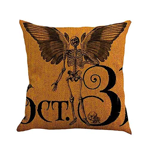 WFeieig_Halloween 18 x 18 Pillow Inserts Throw Pillow Inserts Premium Stuffer Down Alternative,Super Soft Microfiber Filled Decorative Pillow Cushion]()