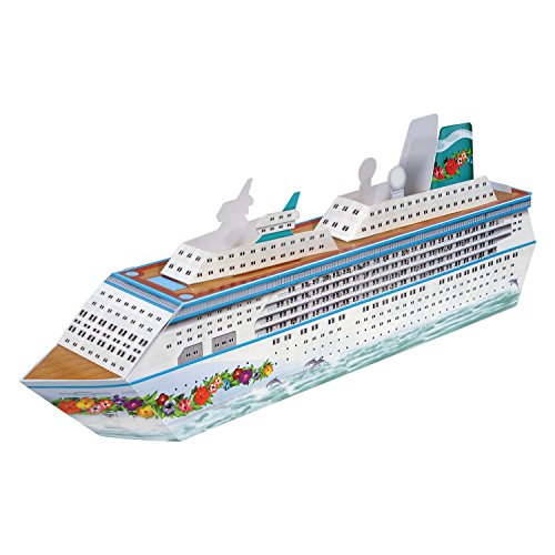 Beistle 54436 Cruise Ship Centerpiece, 13-1/4″, Multicolor