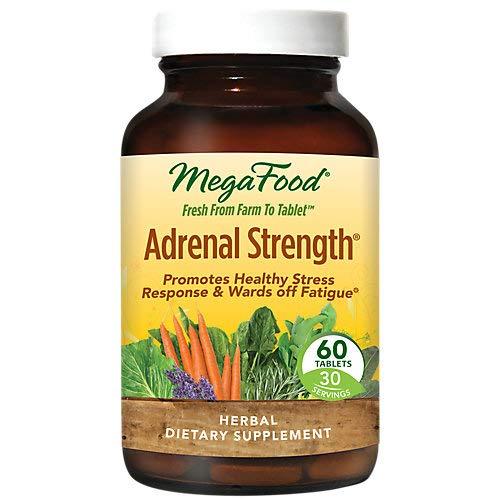 Megafood - Adrenal Strength, 60 tablets