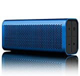 BRAVEN 710 Portable Wireless Bluetooth Speaker [12 Hour Playtime][Water Resistant] Built-In 1400 mAh Power Bank Charger -Blue