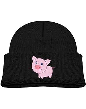 Cute Cute Cartoon Pig Printed Toddlers Baby Winter Hat Beanie