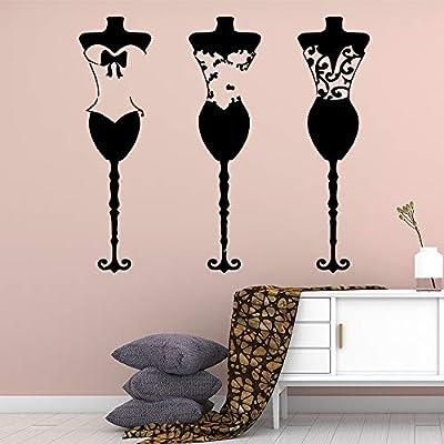 Tienda de ropa linda Etiqueta de la pared Accesorios de decoración ...