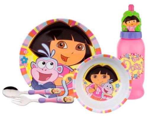 Zak Designs Dora the Explorer 5-piece Dinnerware Set