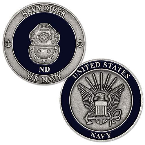 U.S. Navy Diver (ND) Challenge Coin (Challenge Diver Coin)