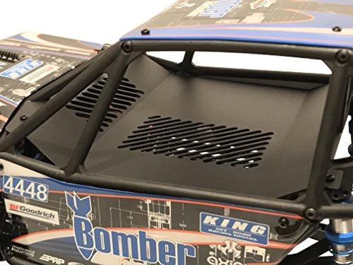 Interior Aluminum Body (Axial Racing RR10 Bomber Aluminum Interior Panel Black AX31328)