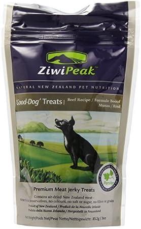 ZiwiPeak Good-Dog Beef Jerky Dog Treats 3-oz by ZiwiPeak