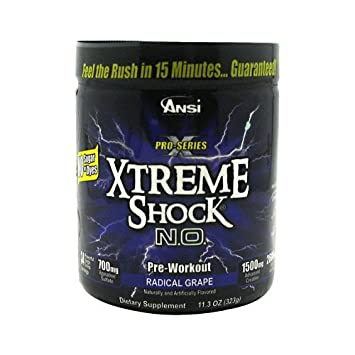 Advance Nutrient Science Pro-Series Xtreme Shock N.O. - Radical Grape -  11.3 Ounces d57f98f895