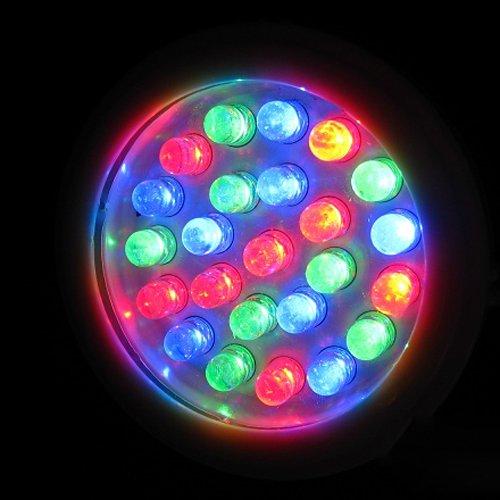 LUMINTURS 24W LED RGB Color Changing Spot Light Fixture Outdoor Underwater Flood Lamp Waterproof IP68