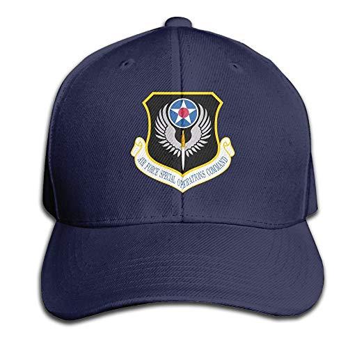 Men Hat Cap amp; Solid Operations Baseball Air Command Women Color Trucker Force Special Cotton Adjustable ITq6qawxP
