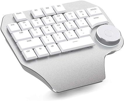 CHUSHENG Teclado Mini Diseñador, Dibujo PS/CAD Teclado ...