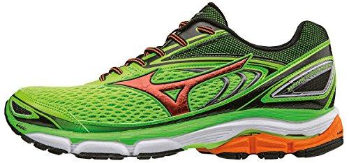 Green Vert Chaussures Hayate Wave Clownfish Homme W Gecko Black Running Entrainement de 3 Mizuno Ifvqzw
