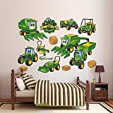 John Deere Johnny Tractor Farming Collection Wall Decal 79 x 52in by FATHEAD