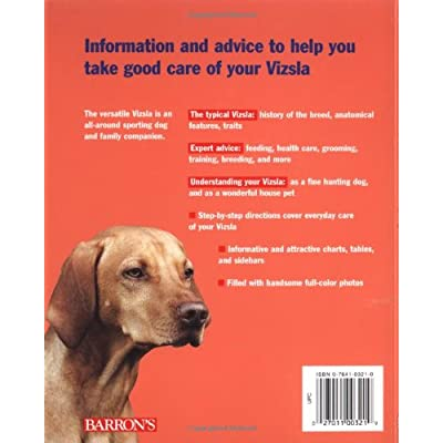 Vizslas-Complete-Pet-Owners-Manuals-Paperback–July-1-1998