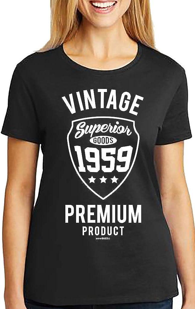 60th Anniversaire T-shirt 1959 60 ans de la naissance de légendes Homme Drôle Cadeau TEE