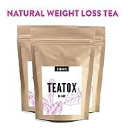 Teatox - 14 Day Detox Weight Loss Tea - Cleanse With Garcinia Cambogia Oolong Pu-erh Senna - Detox Toxin Cleanse Lyfe