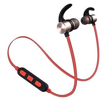 QYQ Auriculares Bluetooth de la reducción de Ruido con los Auriculares inalámbricos del micrófono Auriculares Deportivos