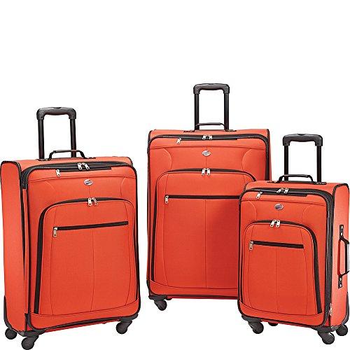 American Tourister AT Pops Plus 3pc Nested Set 21 25/Spinner 29), Orange