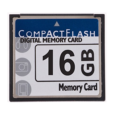 FengShengDa 16GB Compact Flash Memory Card Speed Up To 50MB/s, Frustration-Free Packaging- SDCFHS-016G-AFFP (16G) by fsrdGT